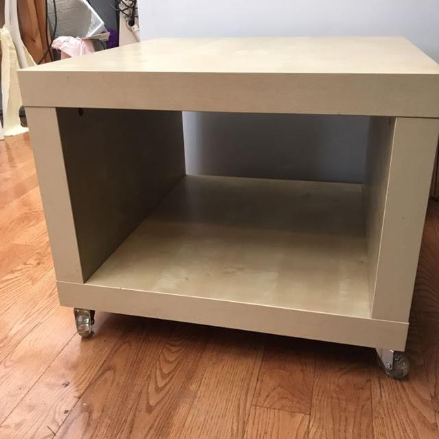 Ikea Square Rolling Coffee Table