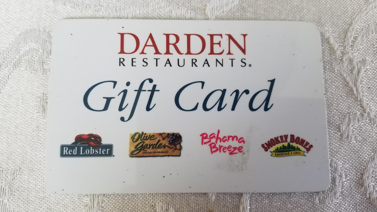 Find more olive garden red lobster bahama breeze smokey - Olive garden gift card at red lobster ...