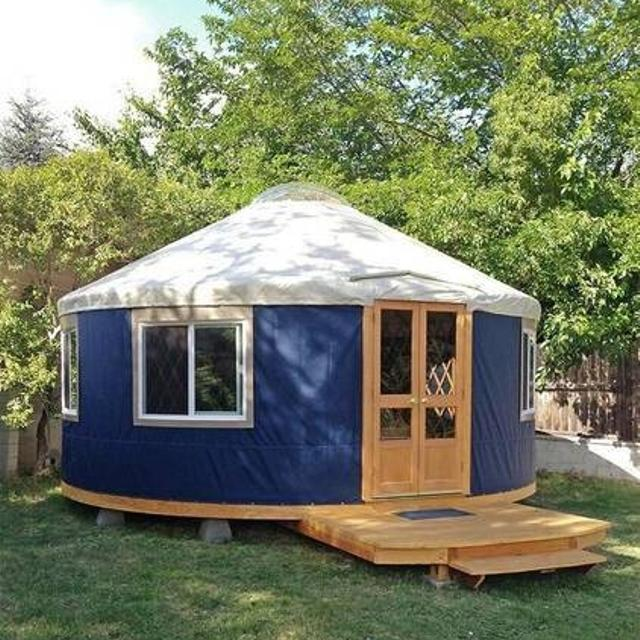 Best Gently Used Yurt For Sale For Sale In North Bay Ontario For 2021 Design, price & build a custom yurt for personal, business or the original modern yurt™️. gently used yurt for sale