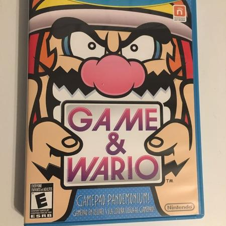 Game & Wario wii u, used for sale  Canada