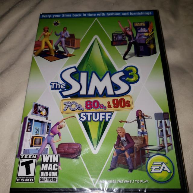 The Sims 3 70s, 80s, 90s PC game