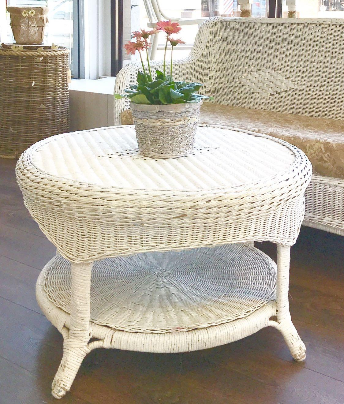 French Provincial Coffee Table For Sale: Find More French Country Cottage Wicker Coffee Table