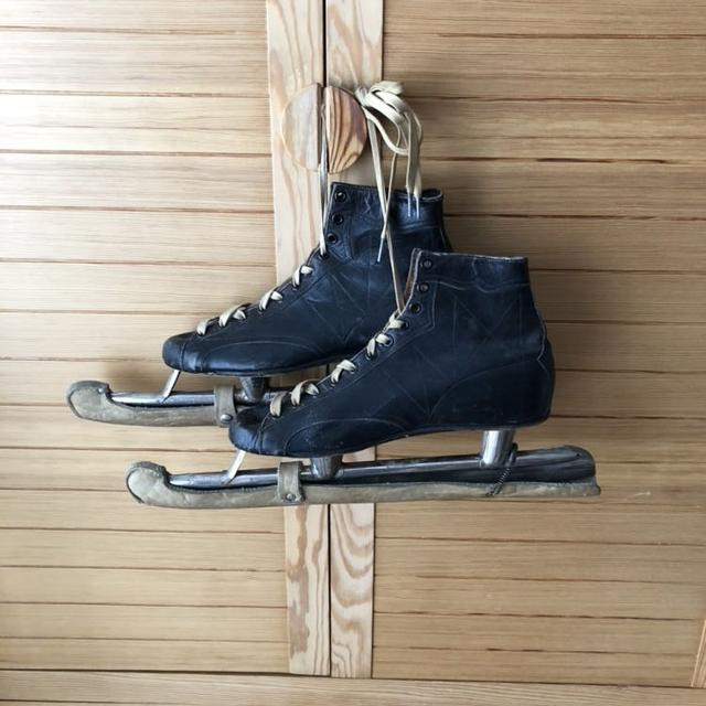 Best Antique 1920 s Ccm Cyco Leather Ice Speed Skates W Blade Guards for  sale in White Rock 3a44ff7f3