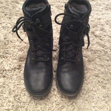 UGG Black Ankle Boots, used for sale  Canada