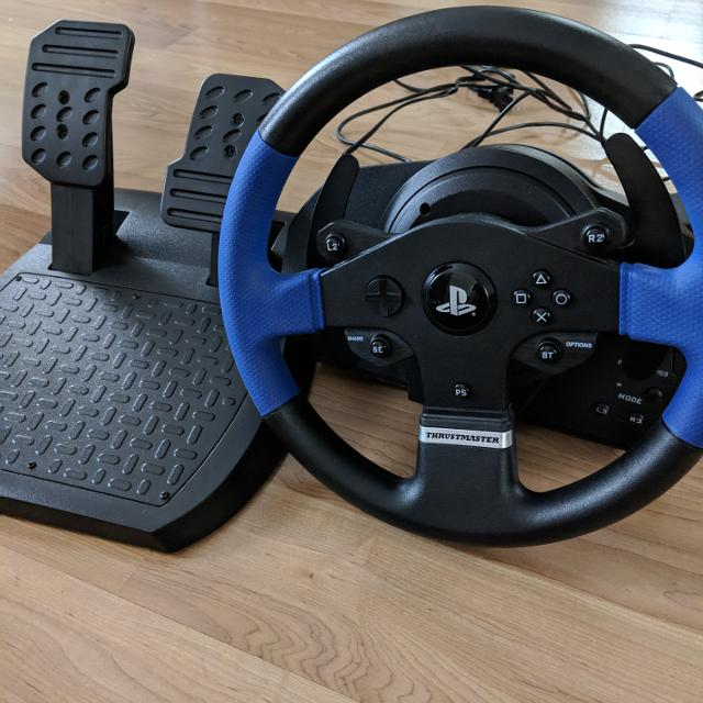 Thrustmaster T150 Force Feedback Racing Wheel (PC/PS4/PS3)