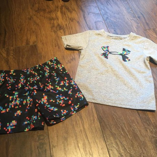 1f5f7f6b47 18 month old under armour toddler boy outfit