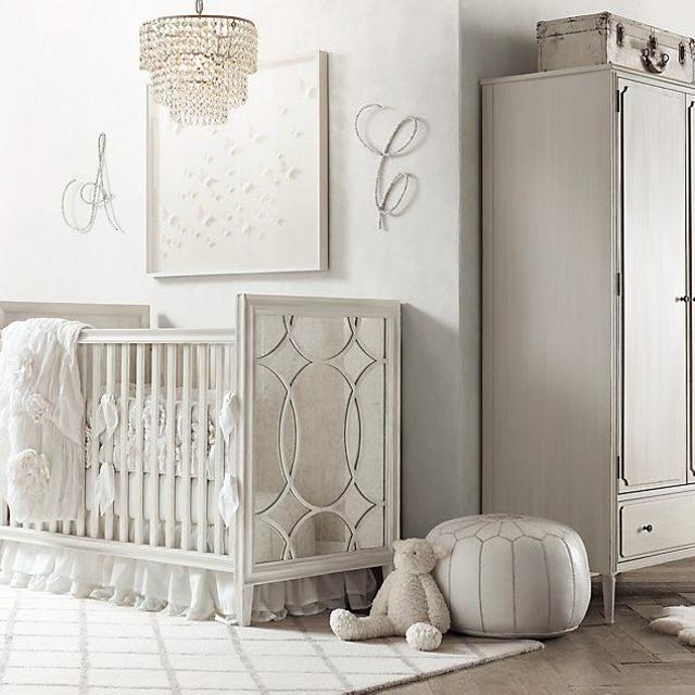 Best Restoration Hardware Crib Heirloom Dove Grey For In Hendersonville Tennessee 2019