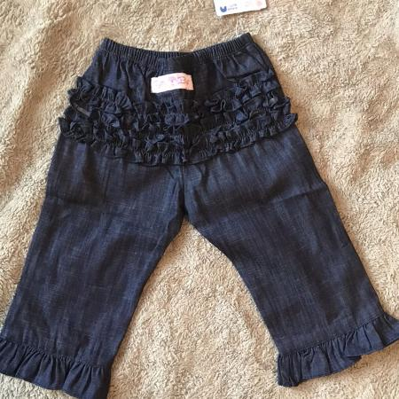 Find More Nwt Natalie Grant Blue Jean Ruffled Pants For Sale At Up