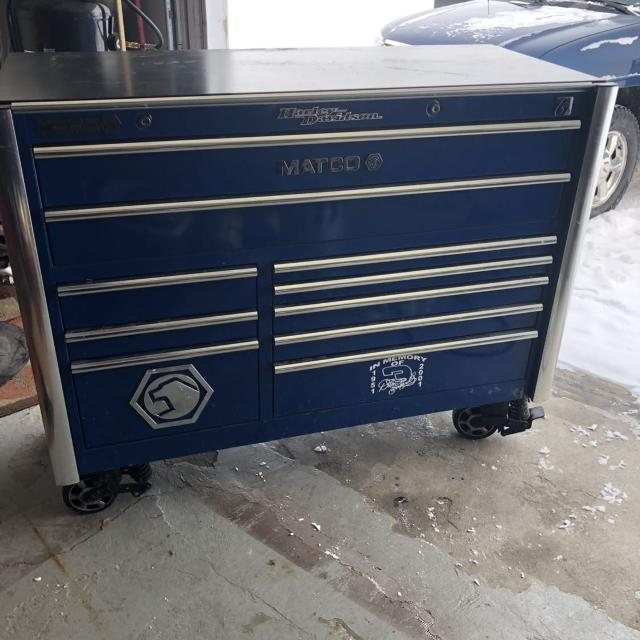 Matco Tool Box & All The Tools In It