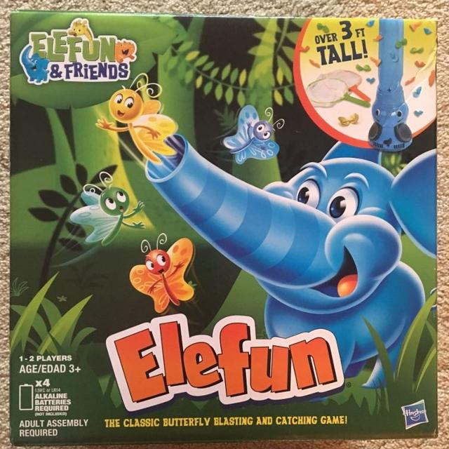 Elephant Butterfly Game Batteries