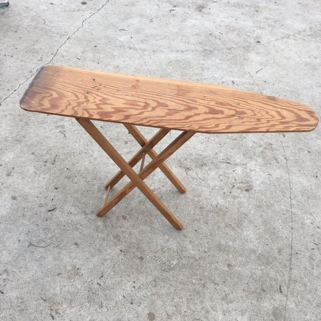 Vintage Childs Size Wooden Ironing Board