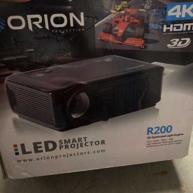 Orion R200 4K projector