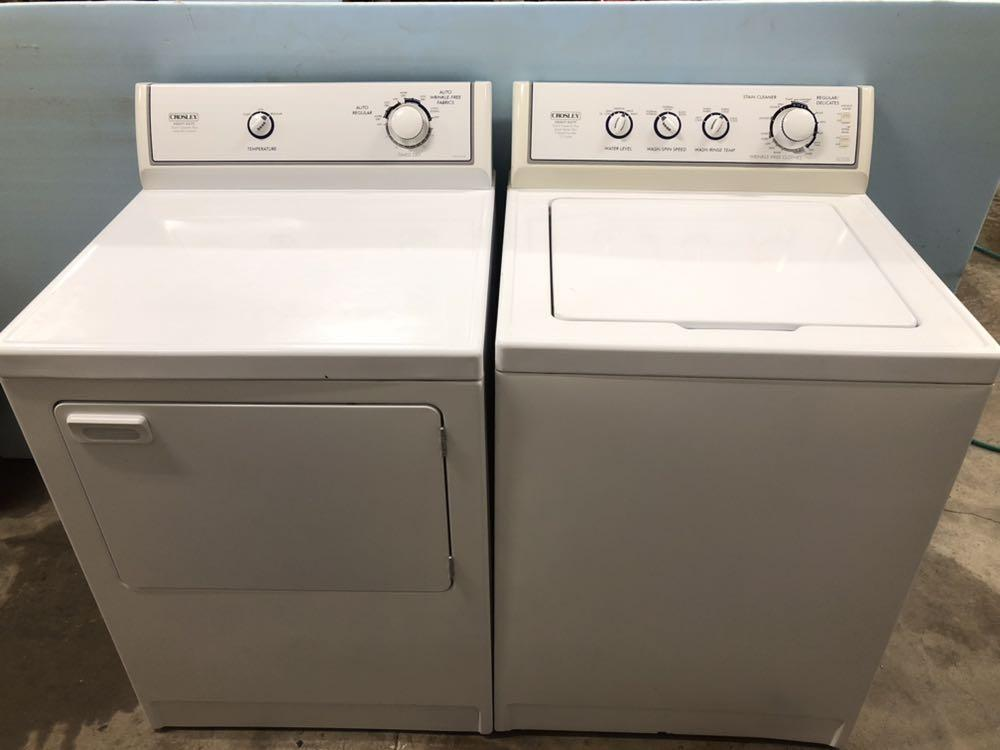 Find More Crosley Heavy Duty Washer Amp Dryer Set For Sale