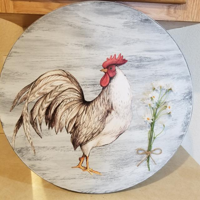 best wood rooster home wall decor for sale in klamath falls, oregon
