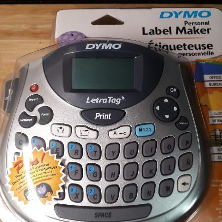 Used, DYMO LetraTag Plus LT100T Labeller for sale  Canada