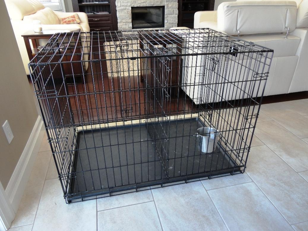 Best Like New Life Stages Large Dog Kennel Crate 42x28 X31
