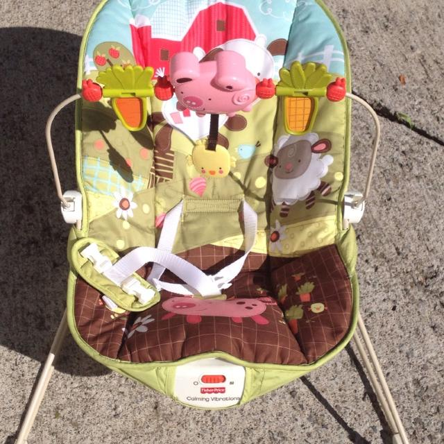 best fisher price how now brown cow baby bouncer for sale in buffalo