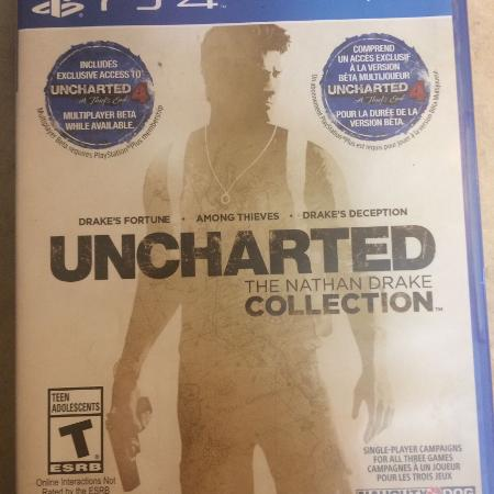 Uncharted PlayStation 4 game, used for sale  Canada