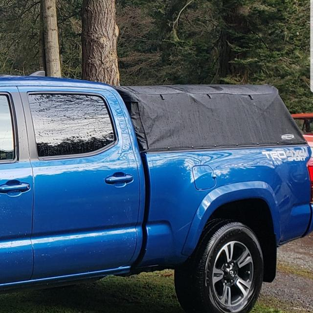 Toyota Tacoma Topper >> Soft Topper For Toyota Tacoma 6ft Box