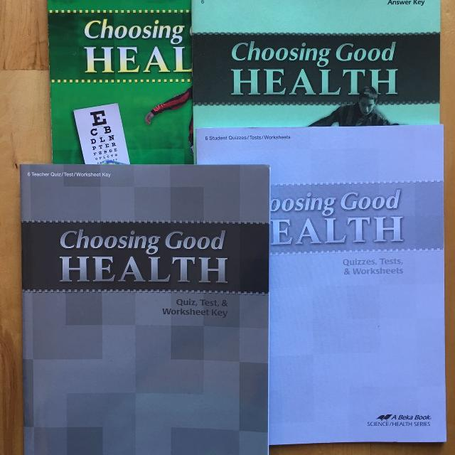 New ABEKA 6th Grade Health Curriculum