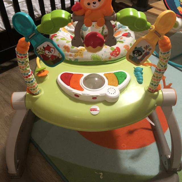 cd8a729694a2 Best Fisher Price Woodland Friends Jumperoo for sale in Duncan ...