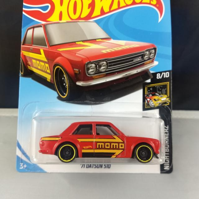 Hot wheels 2019 71 datsun 510 bluebird