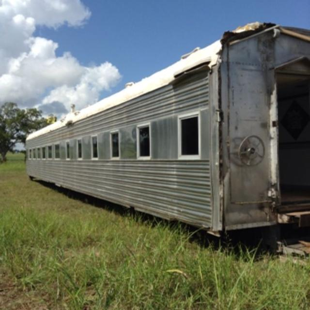 Best passenger diner railroad car for sale in san marcos for Railroad motor cars for sale
