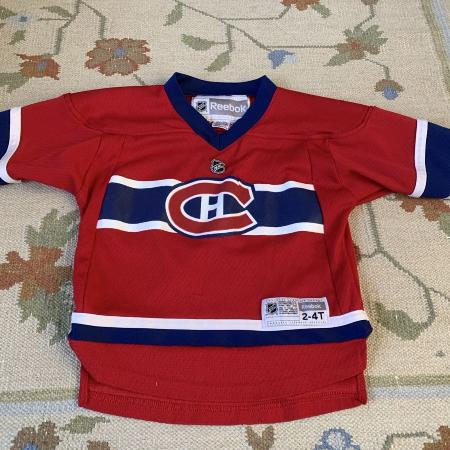 Reebok Official Habs Jersey - Toddler for sale  Canada