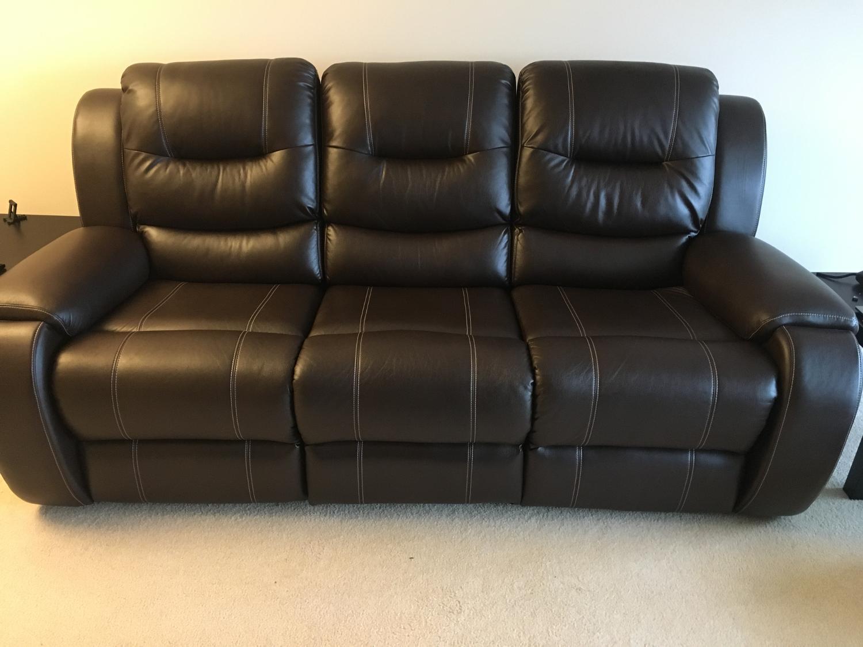 Best Brown Power Reclining Sofa For Sale In Burlington