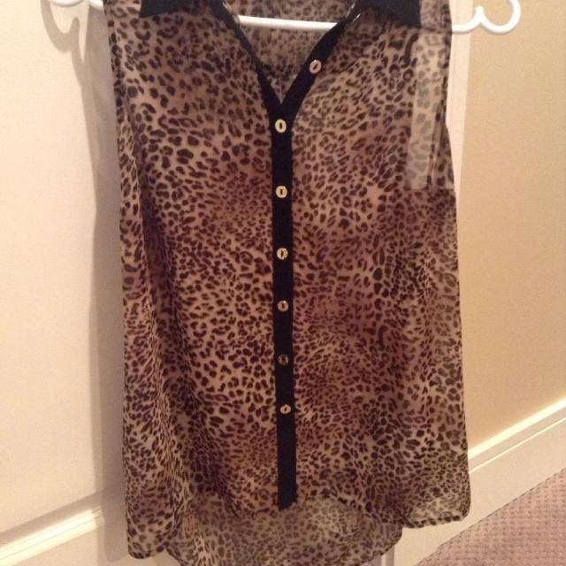 227eaea3a19b Find more Guess Leopard Print Tank Top! for sale at up to 90% off
