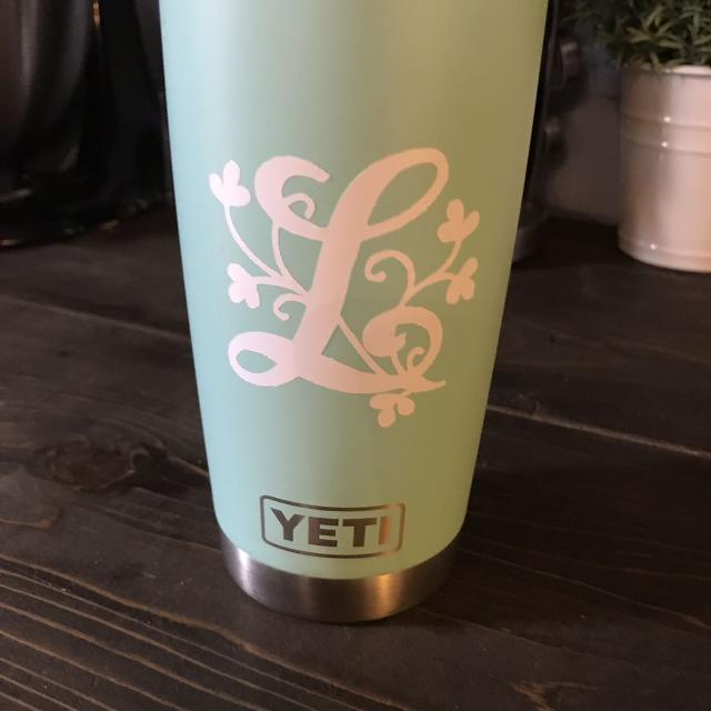 Personalized Yeti Decals