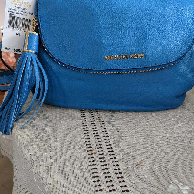 0f5c7f70f8 Find more New With Tag. Authentic Michael Kors Handbag With Mk ...