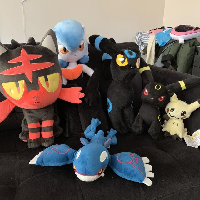 Pokémon plushies - Reducing