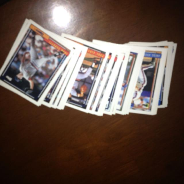 Baseball Cards Price Change