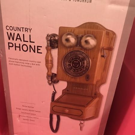 Country wall mount phone for sale  Canada