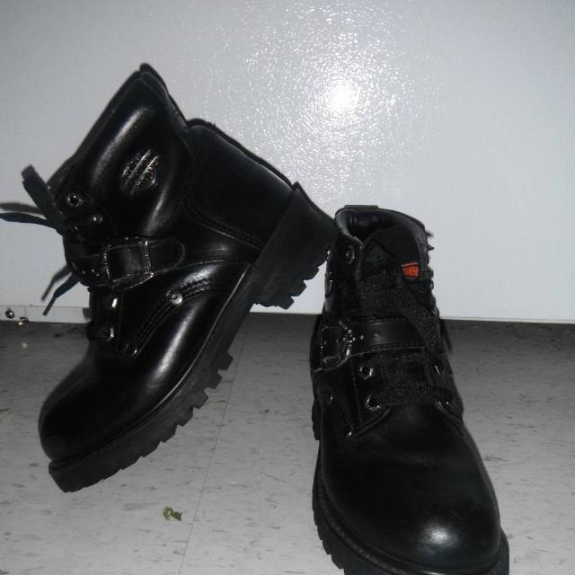 best sneakers f6288 55806 Harley Davidson Riding Boots ~ 6 1/2 ~ Excellent Condition ~ $50