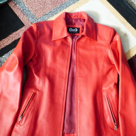 Faux leather D&G jacket for sale  Canada