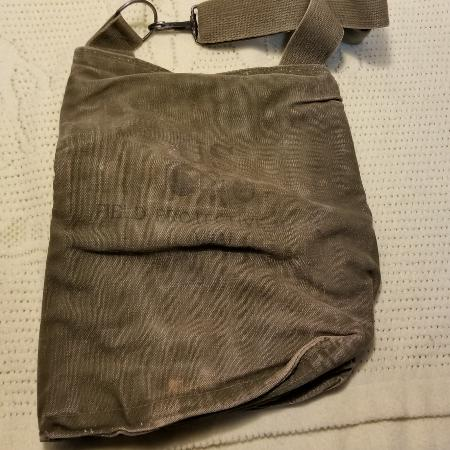Used, Vintage US ARMY M9A1 Gas Mask Bag for sale  Canada