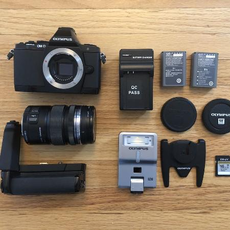 Olympus OMD E-M5 with many upgrades for sale  Canada