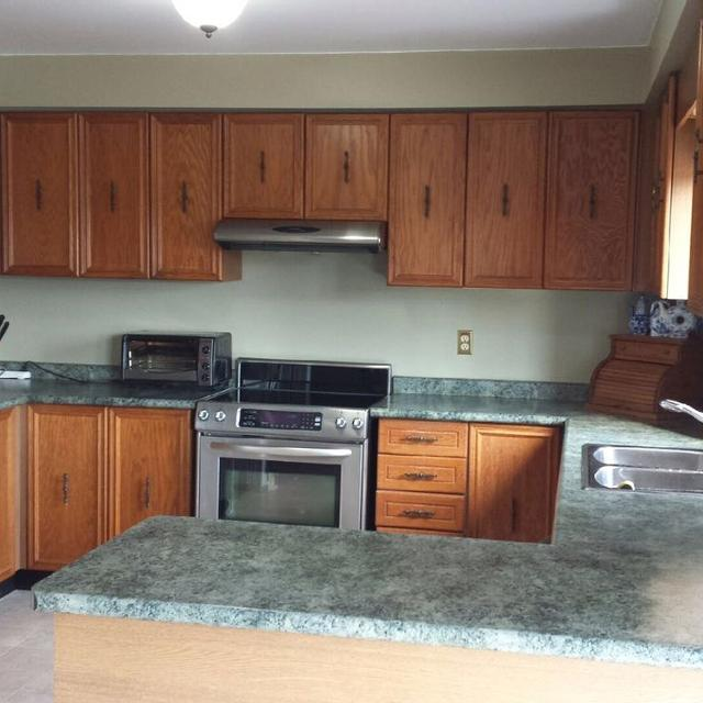 Find More Used Kitchen Oak Cabinets, Laminate Countertop