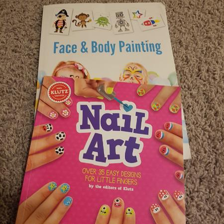 Face body and nail painting books for sale  Canada