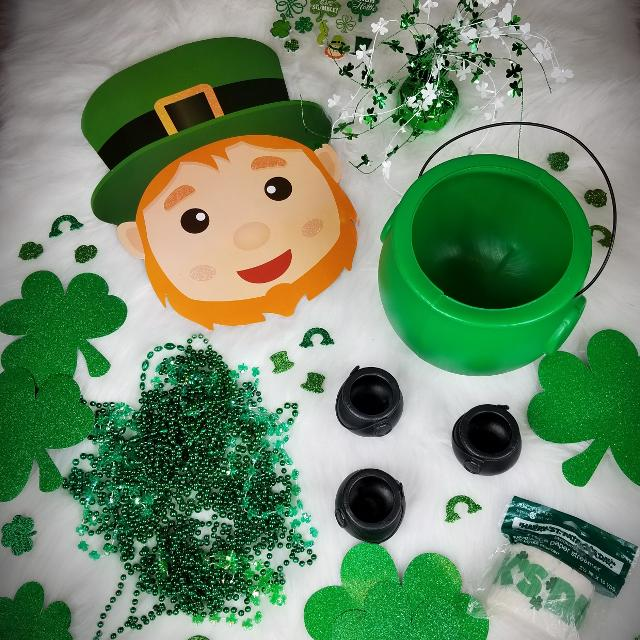 St Patricks Day Party Decorations Lot
