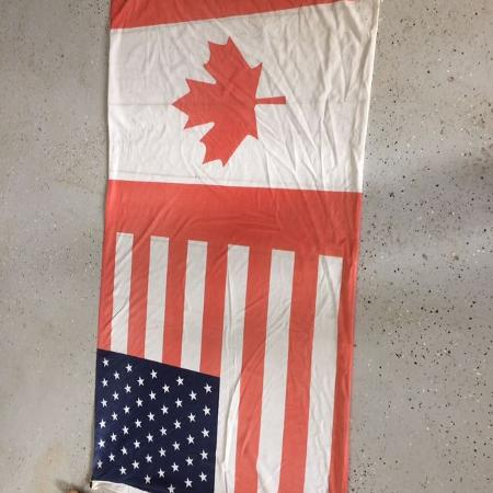 Canadian / USA flag for sale  Canada