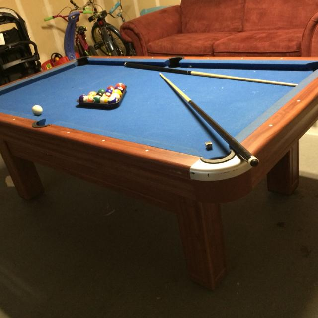 Best Pool Table Comes With Sticks Balls And Brush Extremely - Pool table base
