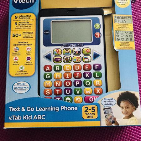 Vtech text & go learning phone  v.tab... for sale  Canada