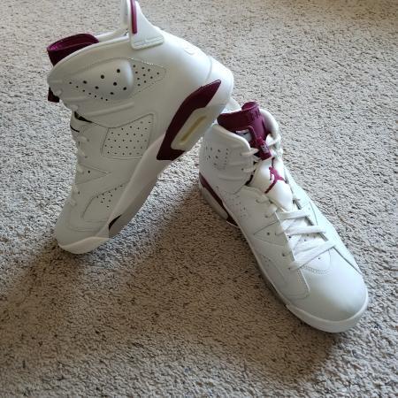 ab0d6d35d20082 Men s Nike Jordan Retro 6 Shoes - NEW