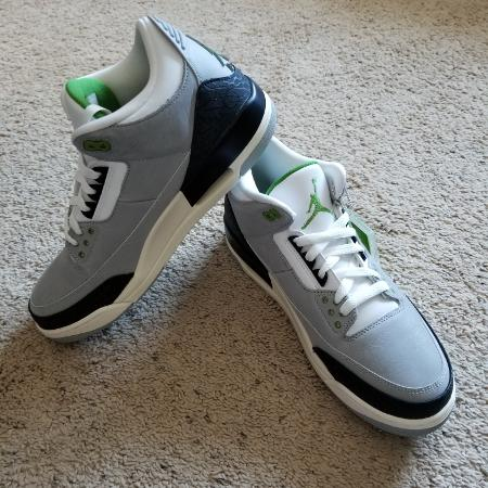 b93d4e32fb3f27 Men s Nike Jordan Retro 3 Shoes - NEW
