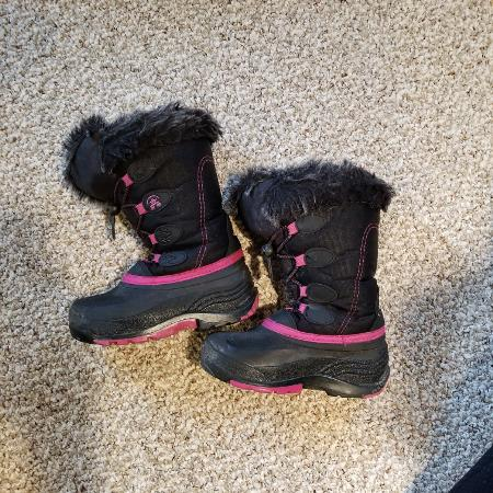 Kamik Girls Winter Boots, used for sale  Canada
