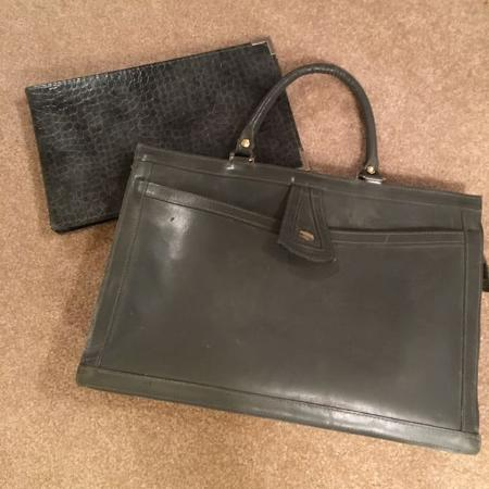 Ladies Briefcase with cheque book, used for sale  Canada