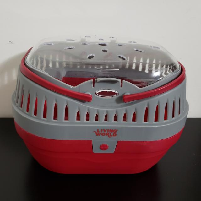 40ea1e8baae Find more Living World Large Pet Carrier for sale at up to 90% off